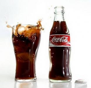 Кока Кола 0,25 в стекле.